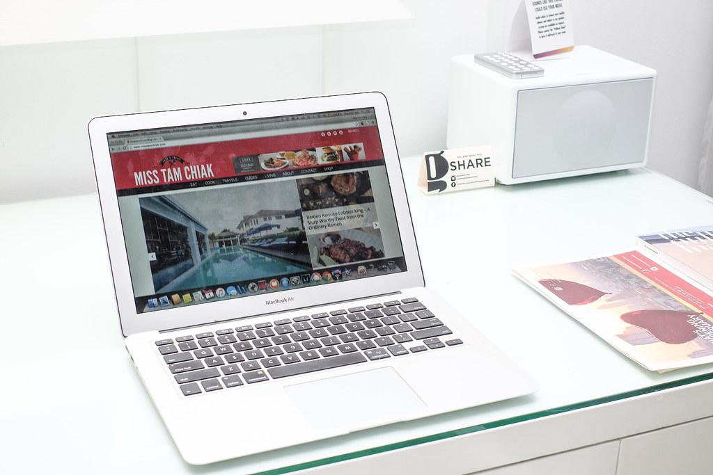 MissTamChiak.com on my Macbook Air