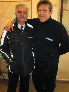 Da sinista,  Joseph Redavid e Franco Birardi