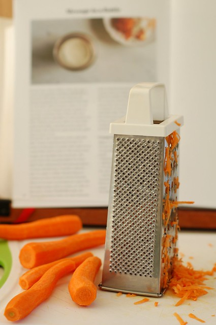 Grating the carrots by Eve Fox, the Garden of Eating, copyright 2016