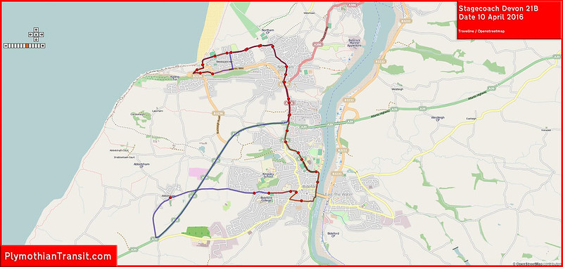 Stagecoach Devon Route-021B