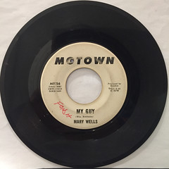MARY WELLS:MY GUY(REOCRD SIDE-A)