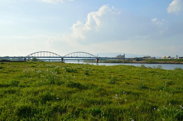 筑後川河川敷