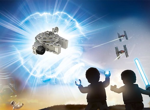 Mini LEGO Star Wars Millennium Falcon