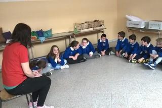 Noicattaro. Easter in England scuola Gramsci front
