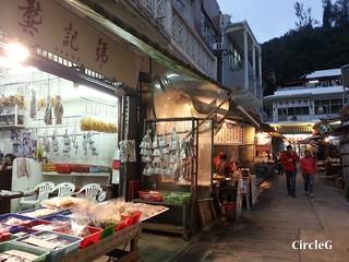 CIRCLEG 大澳 巴士 船 一天遊 香港 東涌站 炭燒雞蛋仔 貓 少林寺 夜景 散步 遊記 (26)
