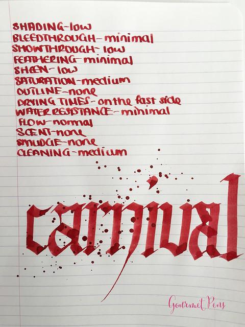 Ink Shot Review Diamine 150th Anniversary Carnival @AppelboomLaren (4)