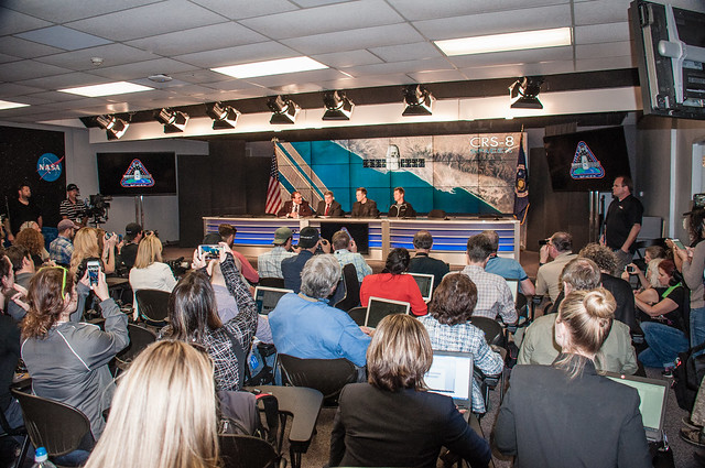 CRS-8 Post Mission Press Conference