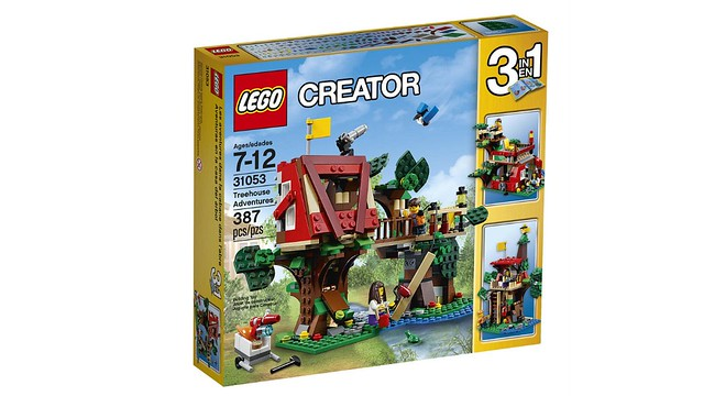 LEGO Creator Treehouse Adventures (31053) box