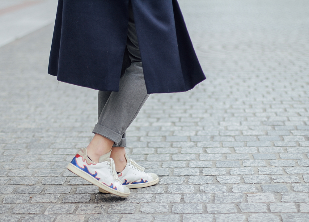 isabel marant sneakers bart etoile streetstyle