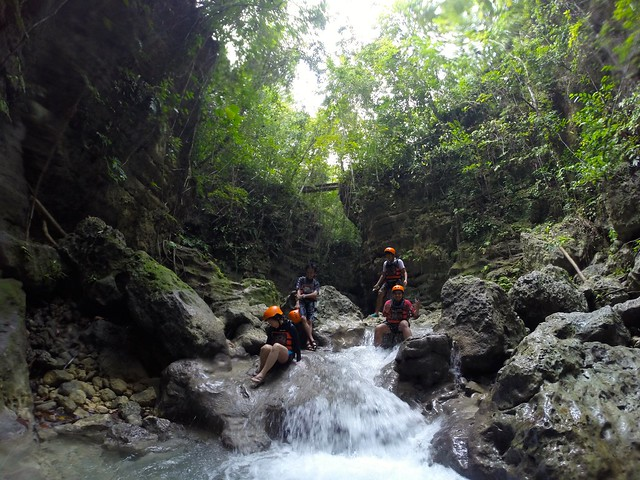 Cebu Team Canyoneering with Kawasan Canyoneering
