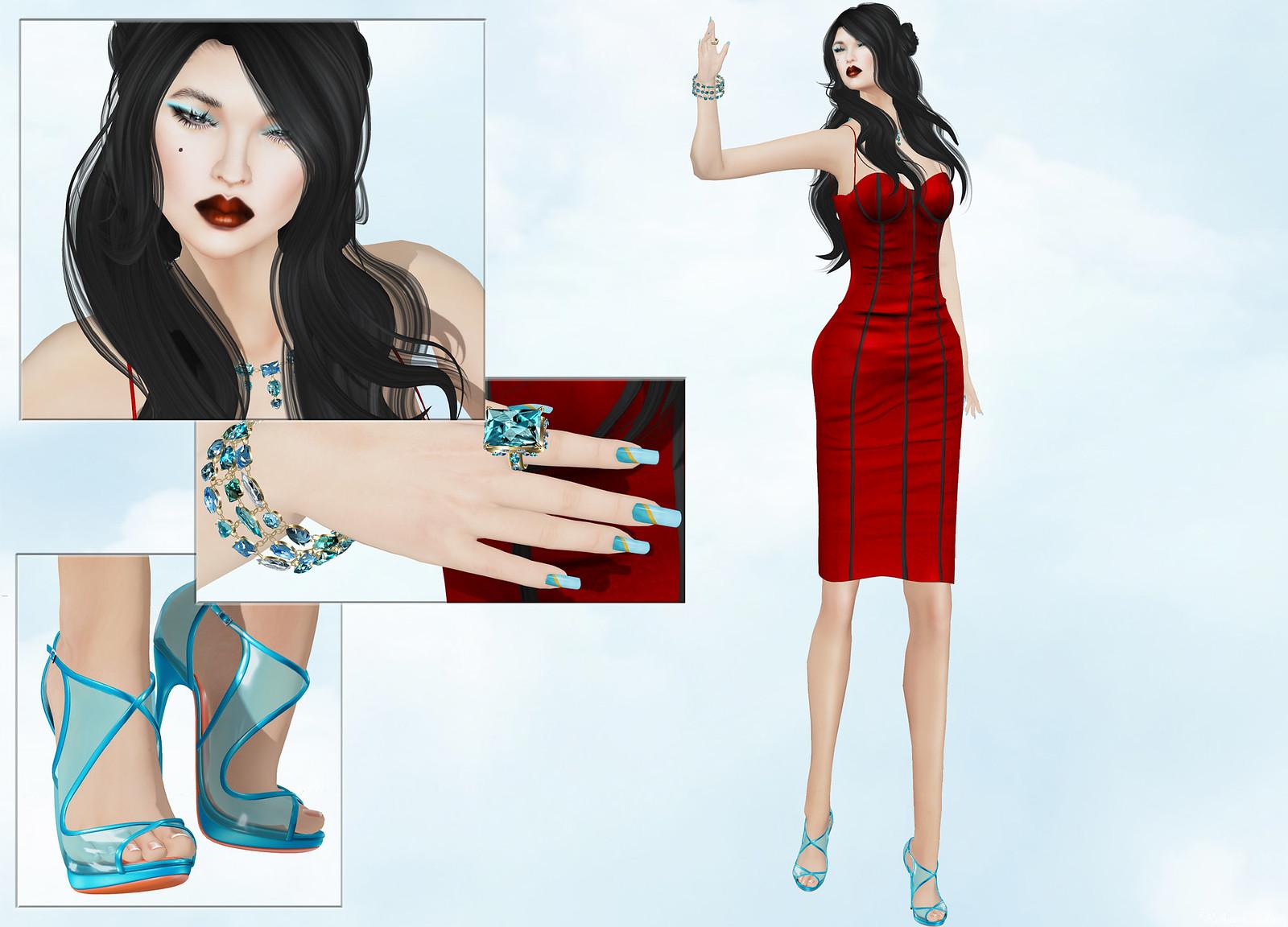 TOPAZIA - Emily dress