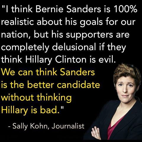 occupy democrats hillary isnt evil