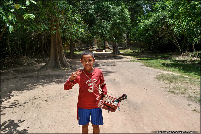 Niños Camboya