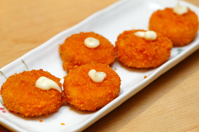 Mitasu Japanese buffet Deep Fried Scallops