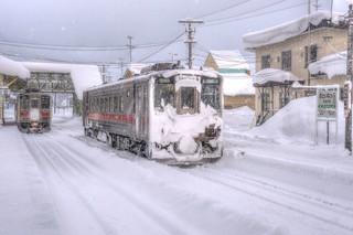 Otoineppu Station on JAN 04, 2016 (1)