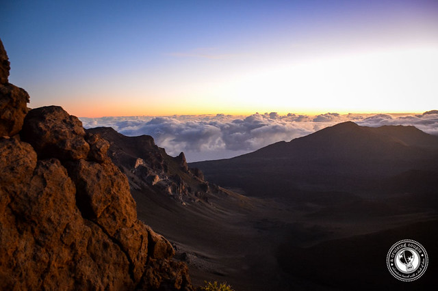 Mount Haleakala Sunrise Crater at Sunrise