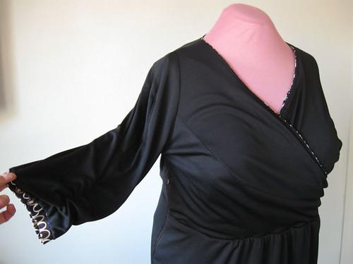 H Burda dress lining