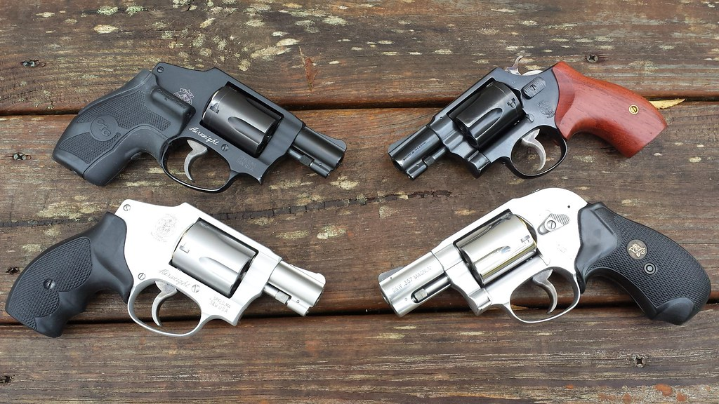 S&W J Frame Airweight Grips: Can You Get A Hold Of What You Carry ...