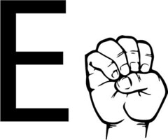 asl-sign-language-letter-e-