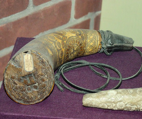 William Morris' Powder Horn