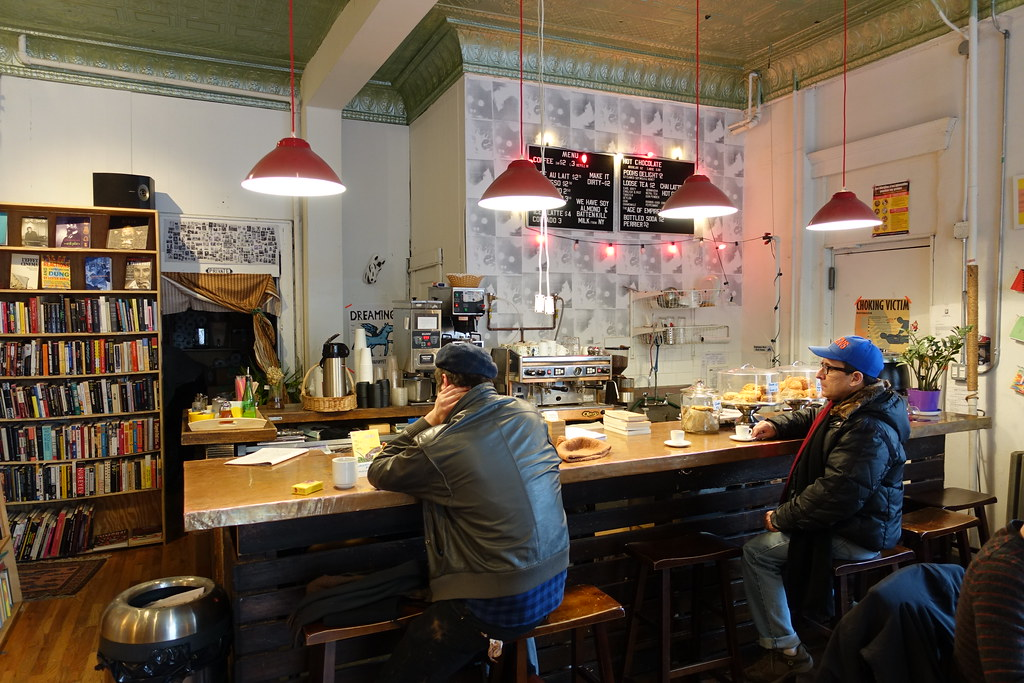 Topos Bookstore Cafe | Woodward Ave | Ridgewood | Queens | NYC