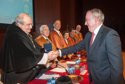Premios de la Cátedras Universidad–Empresa, al Rendimiento Académico y Medallas de la ETSII