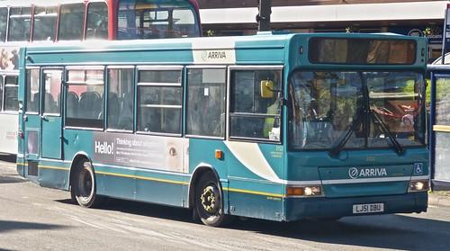Arriva Midlands North 2152 Dennis Dart SLF/Plaxton MPD LJ51 DBU