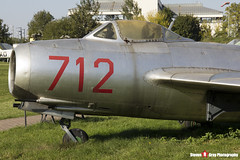 712 - 1A07012 - Polish Air Force - PZL-Mielec Lim-1 MiG-15 - Polish Aviation Musuem - Krakow, Poland - 151010 - Steven Gray - IMG_0096