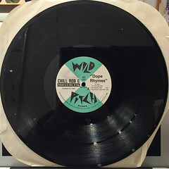 CHILL ROB G:DOPE RHYMES(RECORD SIDE-A)