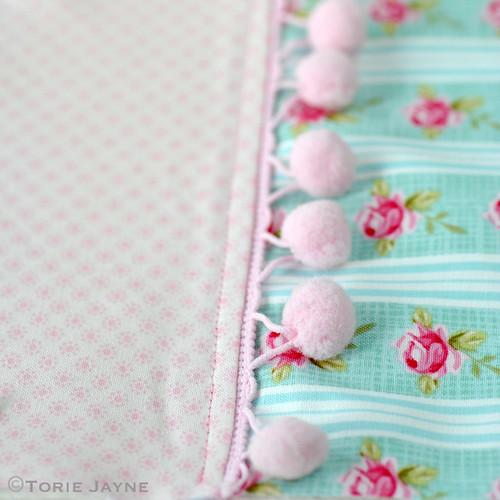 Pretty tote sewing tutorial 7