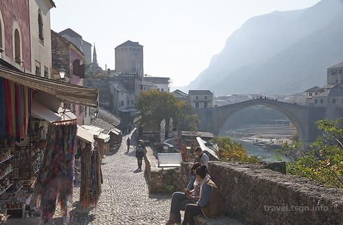 【写真】東欧周遊 : モスタル・旧市街(1)