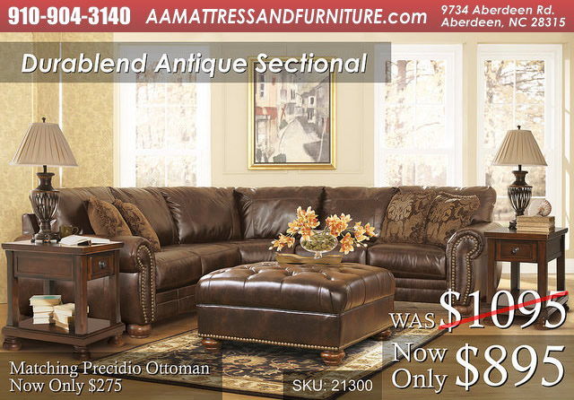 Durablend AntiqueSectional WM