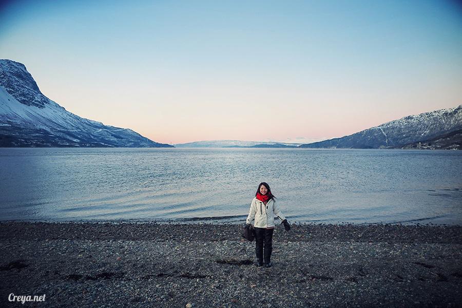 2016.02.23▐ 看我歐行腿 ▐ 阿呀~一不小心就從瑞典到了挪威, Narvik 小鎮遇見地理課本中的峽灣 23.jpg