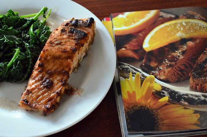 Salmon A L'Afrique Du Nord