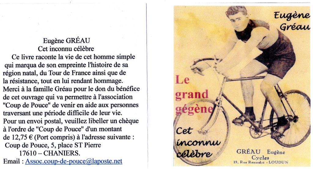 Livre Eugène Gréau (envoie Claude Gréau)