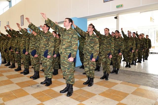 Τελετές Ορκωμοσίας Νεοσύλλεκτων Οπλιτών της 2016 Α΄ ΕΣΣΟ