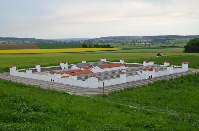 Raetian Limes - Kastell Ruffenhofen