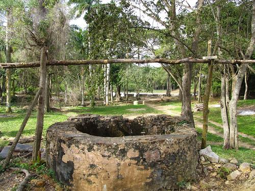 La Valle de los Ingenios: l'eau du puits, qui était transportée par les esclaves, servait à notamment à remplir le bain des propriétaires