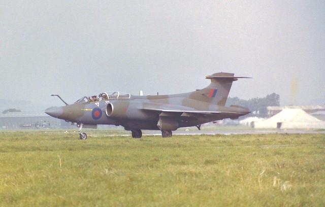 XV361 Buccaneer S.2B Arrive