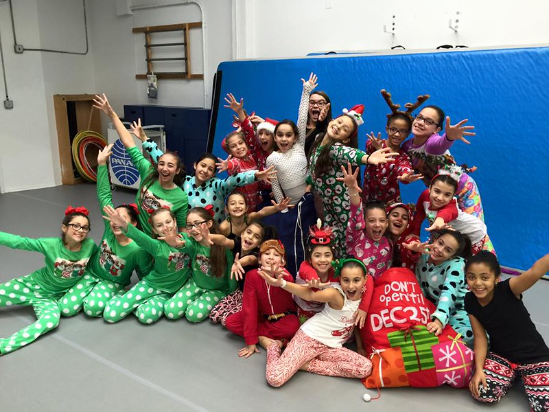 Pajama Week at Landrum December 2015