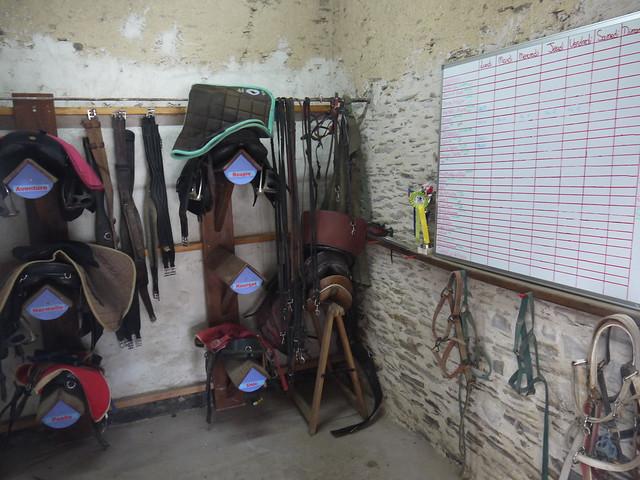 Installations au centre équestre