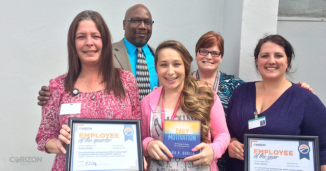 Florida Licensed Practical Nurse named Corizon Health 'Employee of the Year'