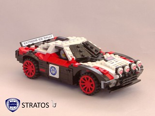 Lancia Stratos Rally Racer - 1972