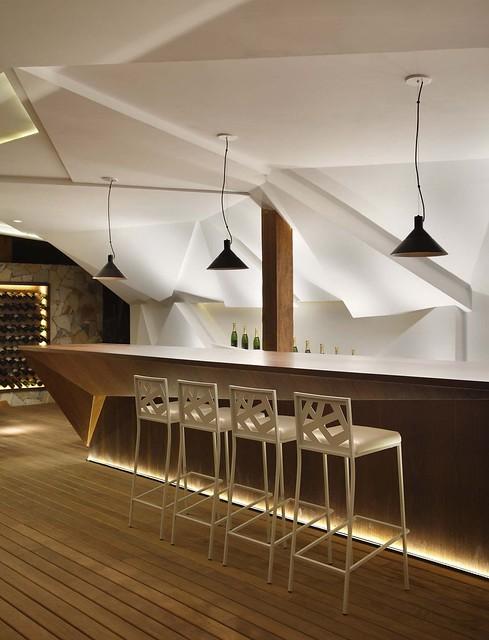 Nosotros bar by studio otto felix karmatrendz - Bar cuisine studio ...