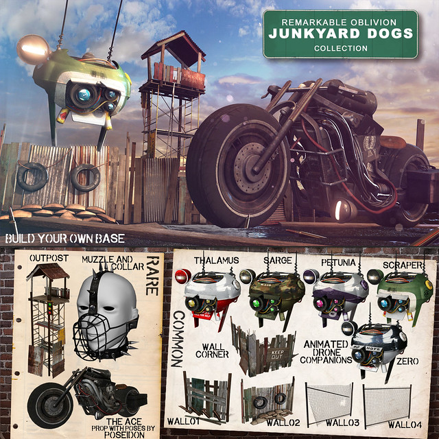 NEW RO- Junkyard Dogs Colllection