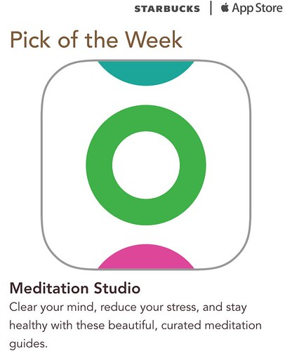 Starbucks iTunes Pick of the Week - Meditation Studio