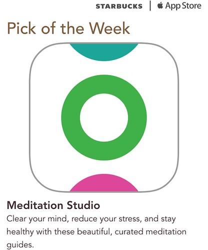 Starbucks iTunes Pick of the Week - Meditation Studio