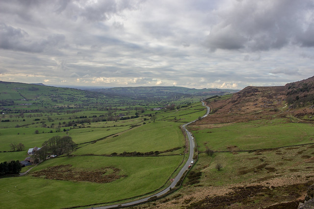 View from The Roaches