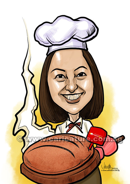 Li Meng baker digital caricature for PropertyGuru (watermarked)