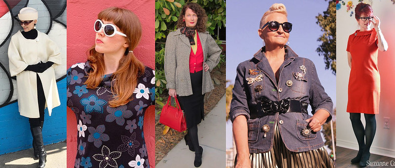 Fashion bloggers in vintage #iwillwearwhatilike